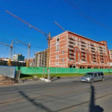 ЖК Васильевский квартал, стройка сентябрь 2013